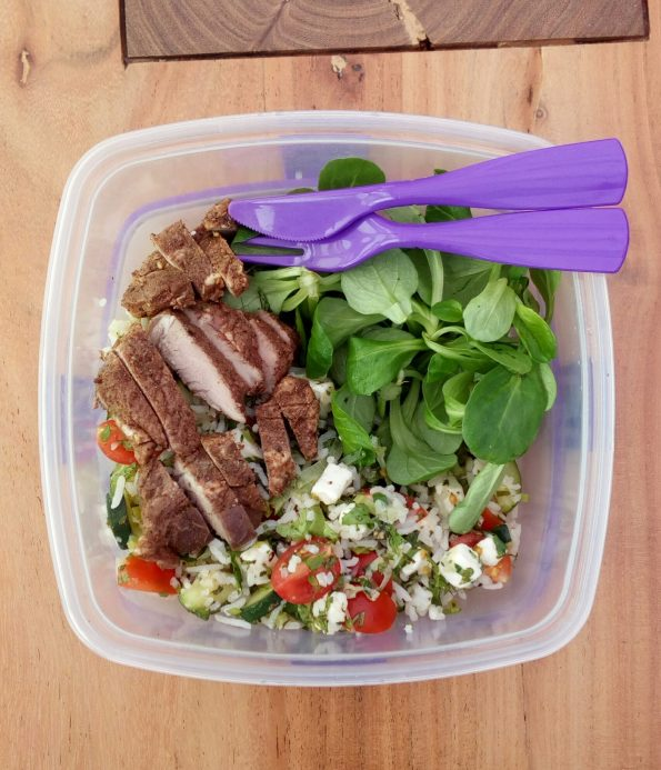 bento box meal prep packed lunch
