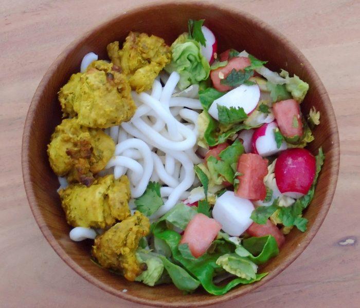 Succulent Satay Chicken