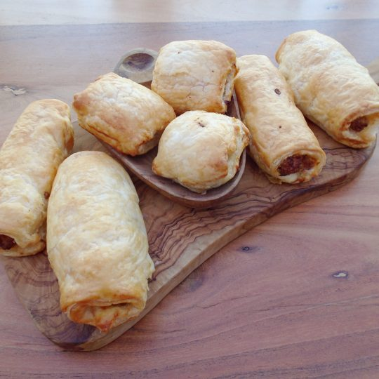 """""""Gone in 60 Seconds"""" Sausage Rolls"""