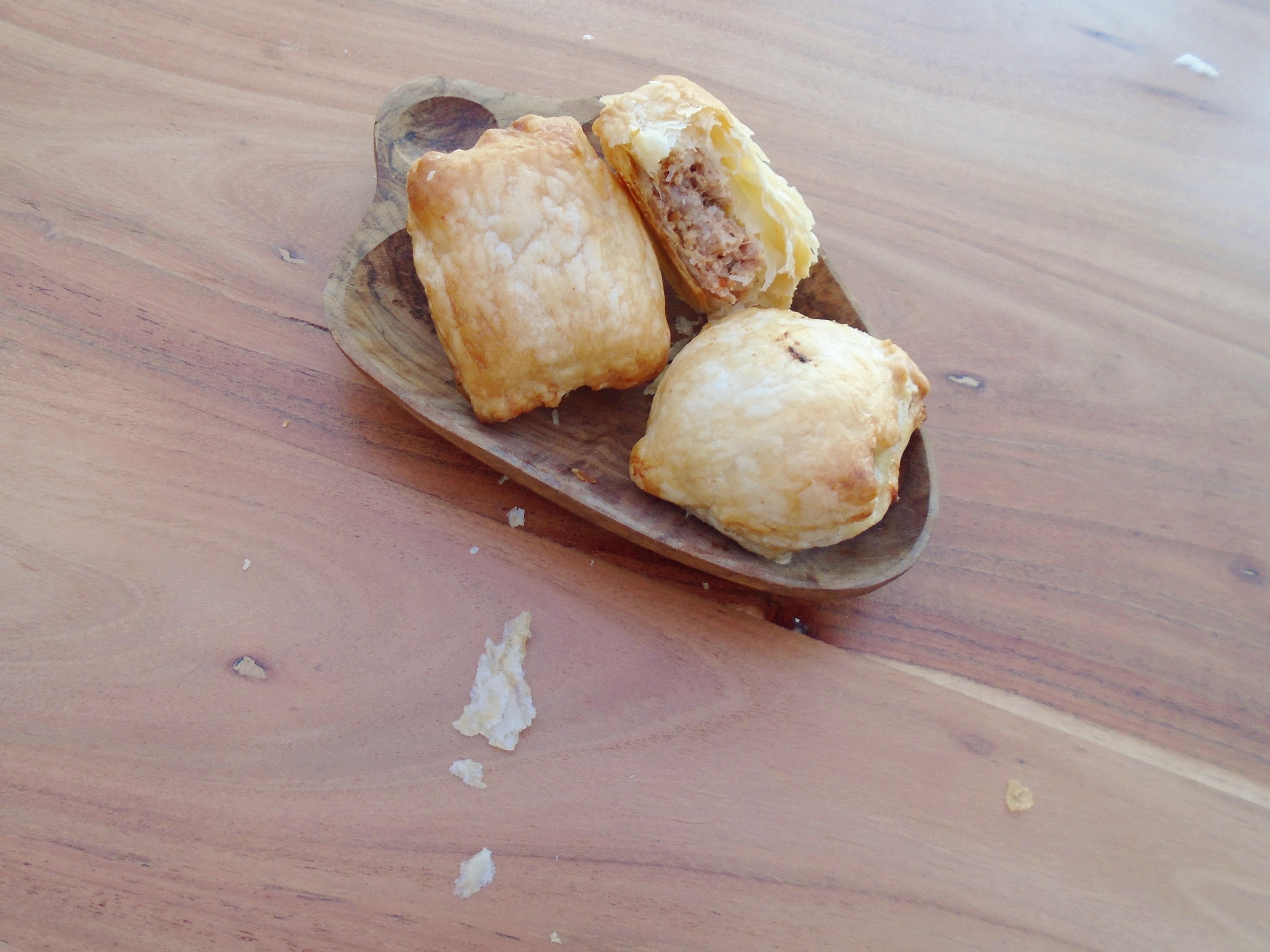 picnic snack sausage rolls