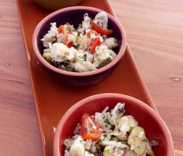 Green Rice Salad